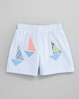Florence Eiseman Stay the Course Swim Shorts