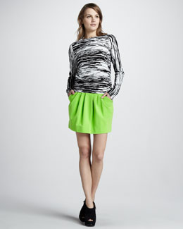 Diane von Furstenberg Monika Sweater & Jan Skirt