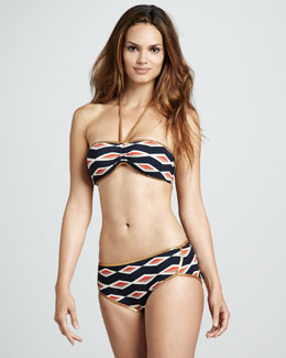 MARC by Marc Jacobs Hayley Geometric-Stripe Two-Piece
