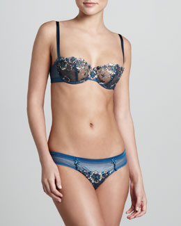 Chantelle Palais Royal Demi Bra & Thong
