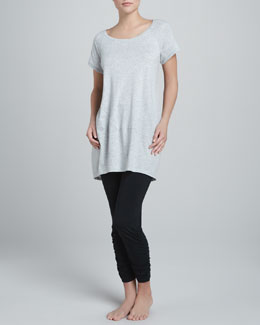 Donna Karan Pima Cotton Sleepshirt & Leggings