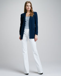 Theory Rokel Tailored Blazer & Juliena Tailored Pants
