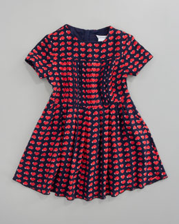 Little Marc Jacobs Heart Print Dress