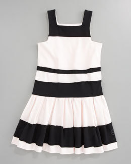 Baby Dior Striped Jersey Dress