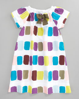 Baby Dior Print Shift Dress