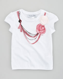 Baby Dior Necklace Print Tee