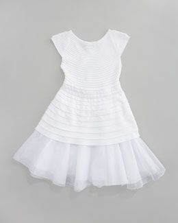 Baby Dior Ribbed Knit Dress