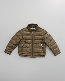 Moncler Acorus Packable Jacket, Military