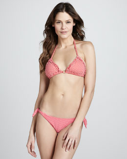 Letarte Pixie Polka-Dot Two-Piece Bikini