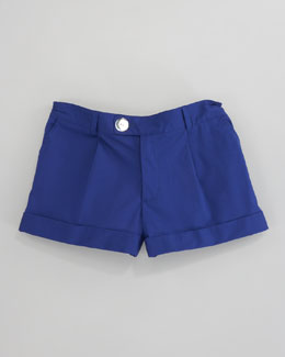 Milly Minis Bow Pocket Short, Lapis