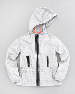 Milly Minis Reflective Tech Zip Jacket