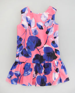 Milly Minis Emme Ivy-Print Dress