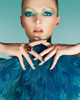 Dior Beauty Summer Look: Bird of Paradise