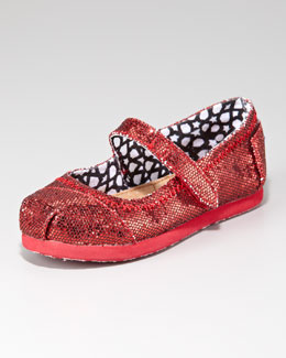 TOMS Glitter Mary Jane