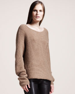 THE ROW Bateau-Neck Cashmere Sweater