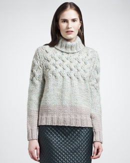 Chloe Chunky Turtleneck Sweater