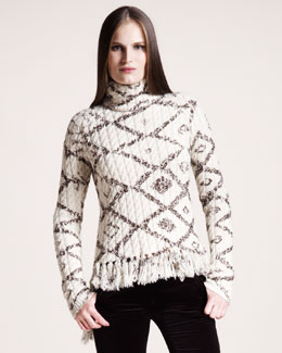 Altuzarra Diamond Printed Sweater