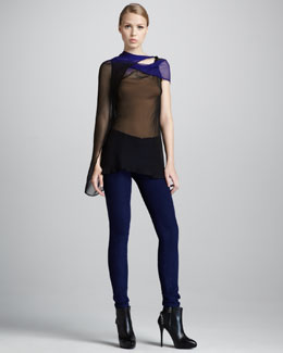 Ann Demeulemeester Five-Pocket Leggings