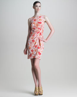 Thakoon Floral-Print Silk Dress