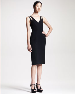 Alexander Wang Contour Wrap-Back Dress