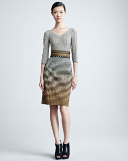 Missoni Mixed Fabric Dress