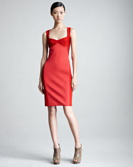 Missoni Mixed Fabric Sheath