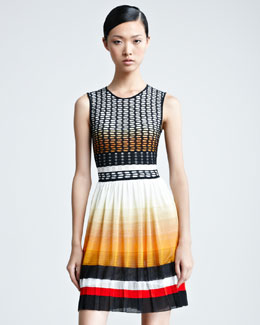 Missoni Sleeveless Pleated Dress