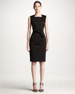 Carolina Herrera Sleeveless Trench Dress