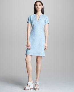 Derek Lam A-line Denim Dress