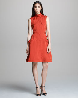 Derek Lam Sleeveless Safari Dress