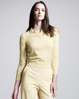 Bottega Veneta POLO SWEATER