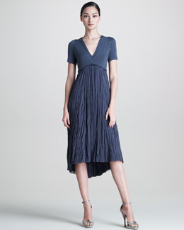 Donna Karan Broomstick Dress