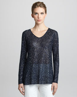 Giorgio Armani Sequined Sweater