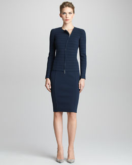 Giorgio Armani Jersey Pencil Skirt