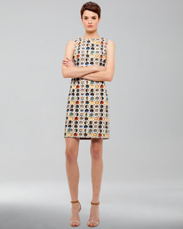 Akris punto Facade-Print Cotton Dress