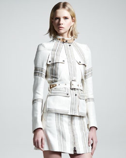 Belstaff Speedmaster Striped Jacket