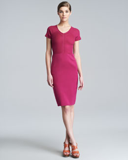 Narciso Rodriguez Stretch-Silk Knit Dress