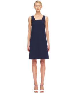 Michael Kors  Crepe Zip Dress