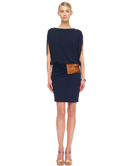 Michael Kors  Belted Jersey Dress