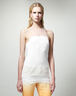 Stella McCartney Illusion Racerback Tank