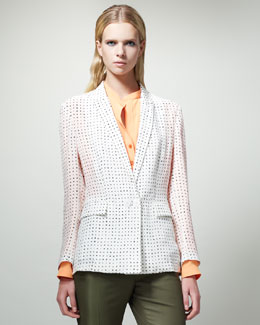 Stella McCartney Dot-Print Jacket
