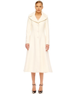 Michael Kors Wool Princess Coat