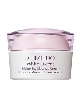 Shiseido Brightening Massage Cream