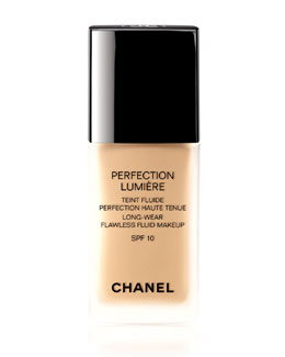 CHANEL <b>PERFECTION LUMIÈRE </b><br>Long Wear Flawless Fluid Makeup SPF 10