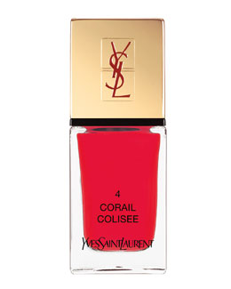 Yves Saint Laurent Beaute La Laque No4 Corail Colisee