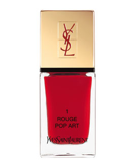 Yves Saint Laurent Beaute La Laque No1 Rouge Pop Art