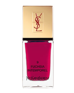 Yves Saint Laurent Beaute La Laque No9 Fuchsia Intemporel