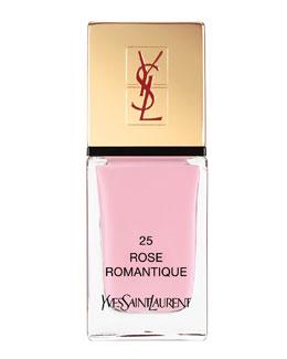 Yves Saint Laurent Beaute La Laque No25 Rose Romantique