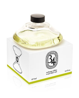 Diptyque 34 Boulevard Hourglass Refill, 2.5 fl.oz.