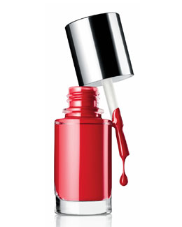 Clinique Nail Enamel, Party Red